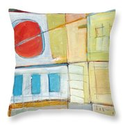 Rowhouse No. 2 Throw Pillow