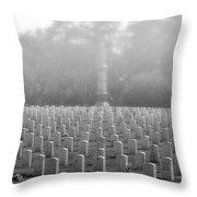 Rows Of Heros Throw Pillow