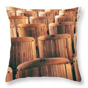 Rows Of Seats Throw Pillow