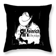 Roy Heinrich T-shirt Throw Pillow by Debra Hurd
