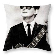 Roy Orbison, Legend Throw Pillow