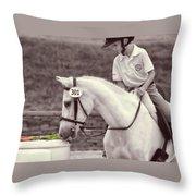 Royal Ascot Throw Pillow