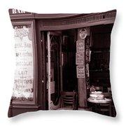 Royal Bar Paris Throw Pillow