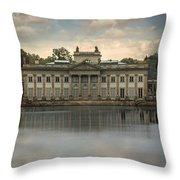 Royal Baths In Warsaw Throw Pillow