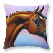 Royal Beauty Throw Pillow