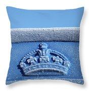 Royal Blood Throw Pillow
