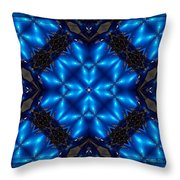 Royal Blue Throw Pillow