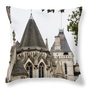 Royal Courts Of Justice Throw Pillow