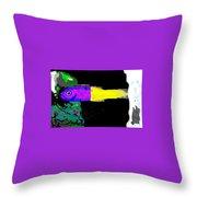 Royal Dottyback Fish Throw Pillow