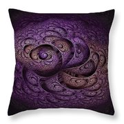 Royal Dreams Throw Pillow