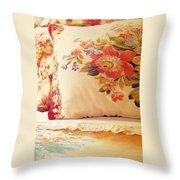 Royal English Chintz  Throw Pillow