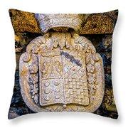 Royal Insignea Throw Pillow