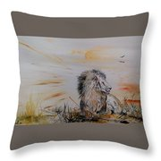 Royal Meekness Throw Pillow