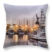 Royal Pacific Throw Pillow