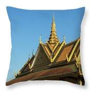 Royal Palace 10  Throw Pillow