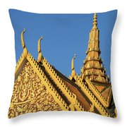 Royal Palace 14  Throw Pillow