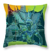 Royal Palace Bangkok Throw Pillow