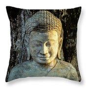 Royal Palace Buddha 02  Throw Pillow