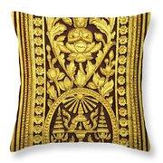 Royal Palace Gilded Door 01 Throw Pillow