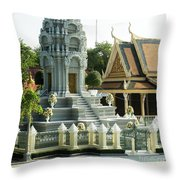 Royal Palace Shrine 02  Throw Pillow