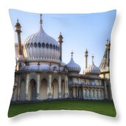 Royal Pavilion Brighton Throw Pillow