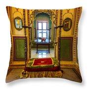 Royal Ride Throw Pillow