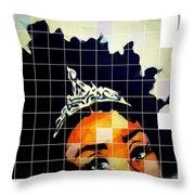 Royal Roots Throw Pillow