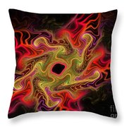 Royal Star Anew Throw Pillow