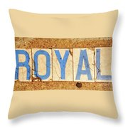 Royal Street - Nola Throw Pillow