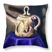 Royal Vessel Throw Pillow