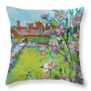 Royal Visit Throw Pillow