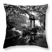 Royal Welsh College Of Music And Drama Throw Pillow