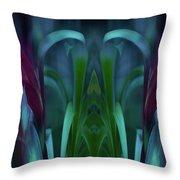 Royalty Transfigured Throw Pillow by Wayne King