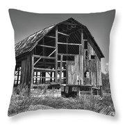 Rt 16 Barn 1302a Throw Pillow