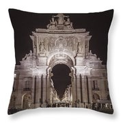 Rua Agusta Arch Lisbon Textured II Throw Pillow