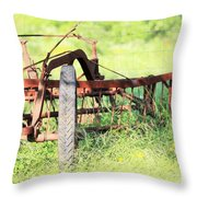 Rubber Throw Pillow