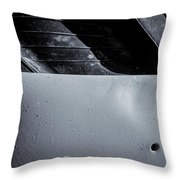 Rubber Tire Division Throw Pillow