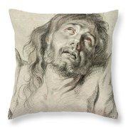 Rubens, Christ.  Throw Pillow