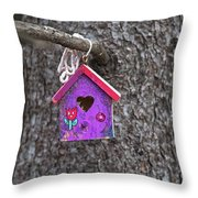 Rubicund.. Throw Pillow