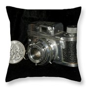 Rubix 16mm Film 1949 Throw Pillow