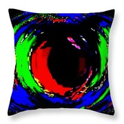 Ruby Eye Throw Pillow