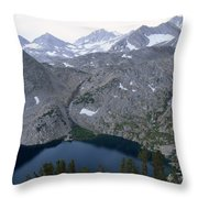 Ruby Lake Throw Pillow
