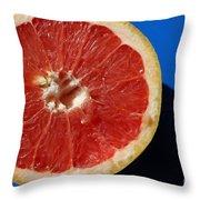 Ruby Red Grapefruit Throw Pillow