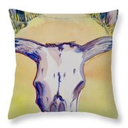 Ruby Road Throw Pillow