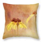 Rudbeckia Daydream Throw Pillow