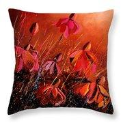 Rudbeckia's 45 Throw Pillow