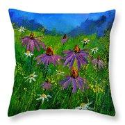 Rudbeckias 4551 Throw Pillow