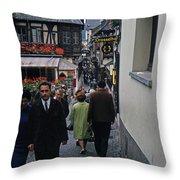 Rudesheim1 Throw Pillow