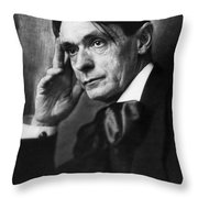 Rudolf Steiner (1861-1925) Throw Pillow by Granger