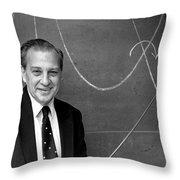 Rudolph Marcus, American Chemist Throw Pillow
